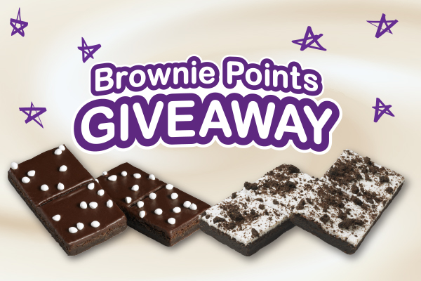 Brownie Points Giveaway