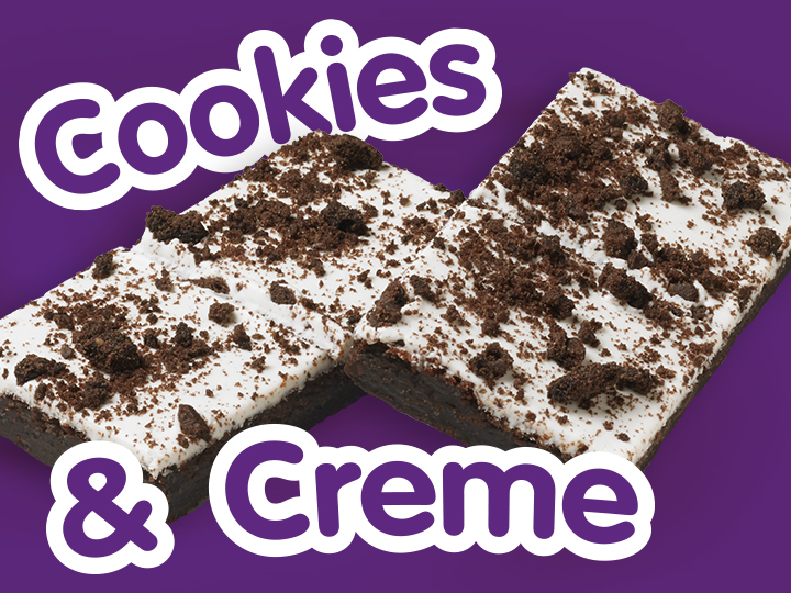 NEW Cookies & Creme Brownies